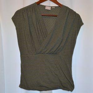 Anthropologie 9-H15 STCL Twist & Drape Large Shirt
